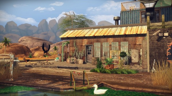 Frau Engel Post Apocalyptic Life House Sims 4 Downloads
