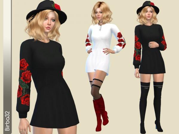 The Sims Resource: Flavia dress by Birba 32