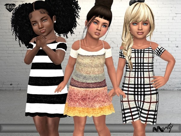 The Sims Resource: Toddler`s Lilis Dress by MartyP