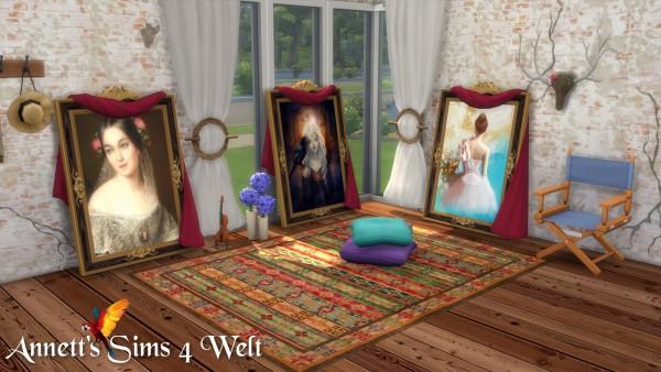 Annett`s Sims 4 Welt: Standing Paintings Woman