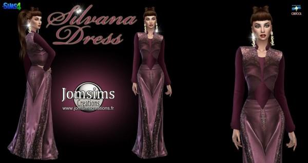 Jom Sims Creations: Silvana dress