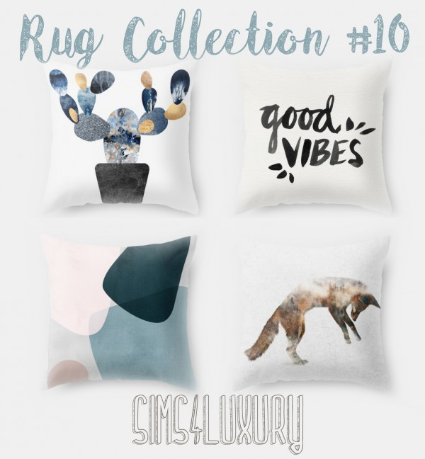Sims4Luxury: Pillow Collection 10