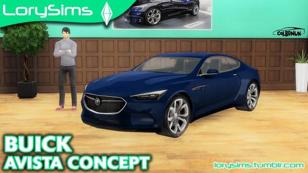 Lory Sims: Buick Avista Concept