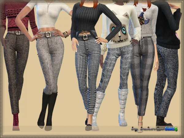 The Sims Resource: Low Cut Tank Top by Bill Sims