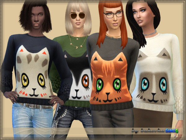 The Sims Resource: Sweater Cat by bukovka