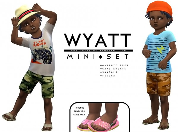 Onyx Sims: Wyatt Mini Set