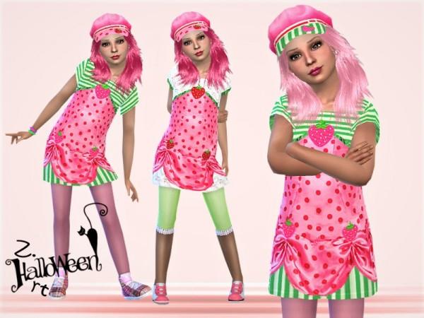 The Sims Resource: Halloween GirlZ. 01 Set by Zuckerschnute20