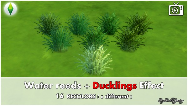 Mod The Sims: Water reeds and Ducklings Effect by Bakie