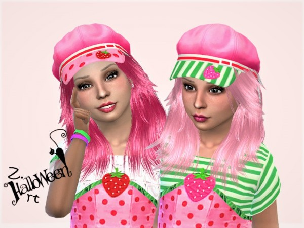 The Sims Resource: Halloween GirlZ. 01 Set by Zuckerschnute20