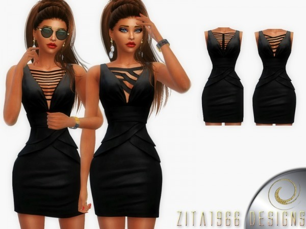 The Sims Resource: That Little Black Dress by ZitaRossouw