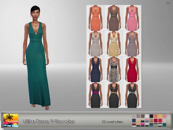 Elfdor: UliKa Dress 9 Recolor