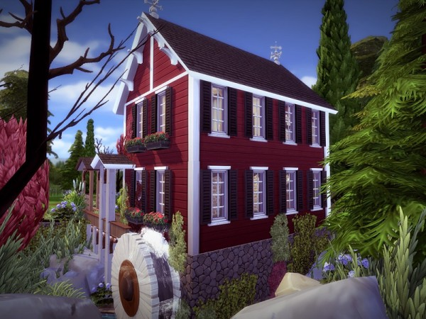 The Sims Resource: Vattenmill   NO CC! by melcastro91