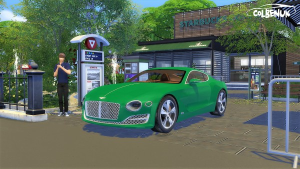 Lory Sims: Bentley EXP10 Speed 6 Concept