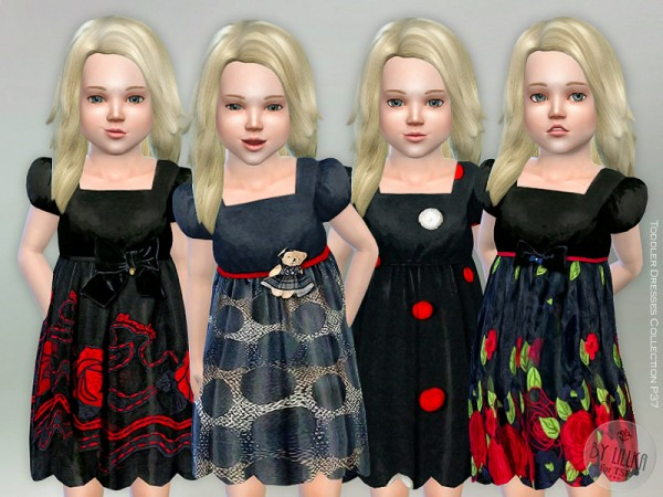 The Sims Resource: Toddler Dresses Collection P37 by lillka