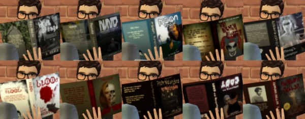 Budgie2budgie: Bruna's horror books