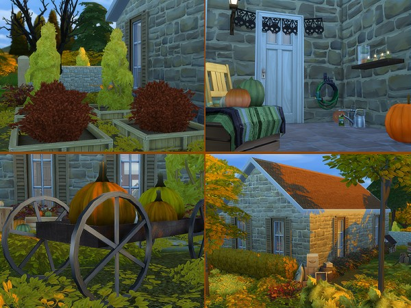 The Sims Resource: Autumn family home by Merci