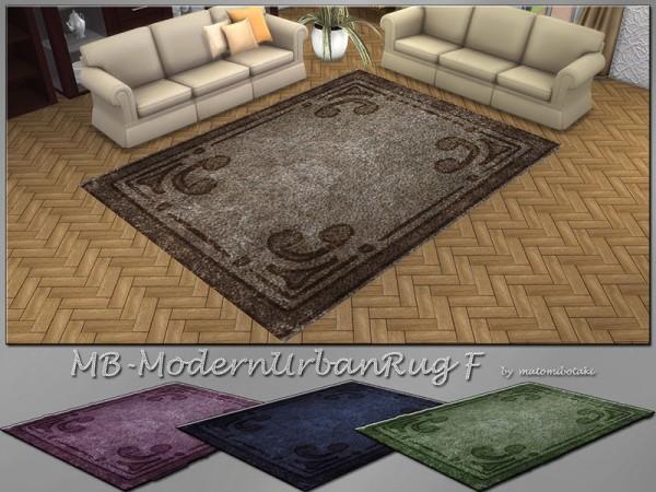 The Sims Resource: Urban Modern Rug F by matomibotaki
