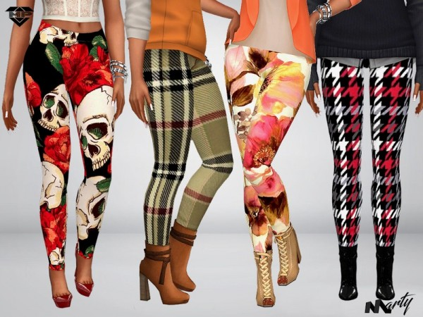 The Sims Resource: Autumn Leggings Set 2 by MartyP