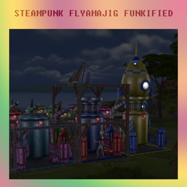 Mod The Sims: Steampunk Flyamajig Funkified by Simmiller