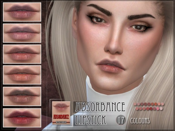 The Sims Resource: Absorbance Lipstick by RemusSirion