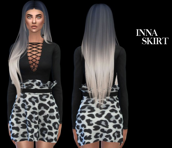 Leo 4 Sims: Inna skirt recolored