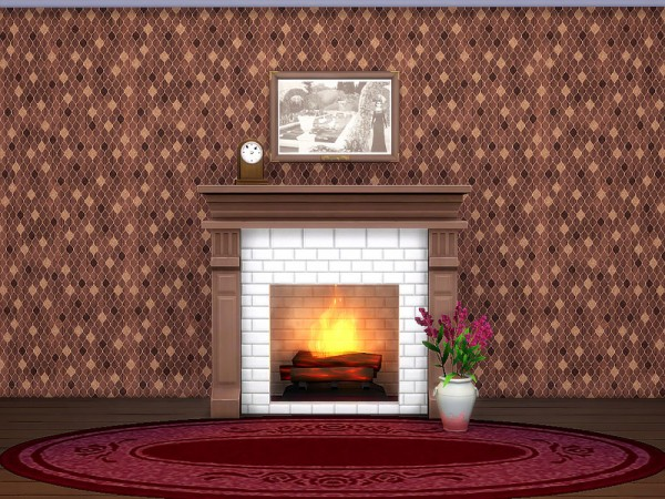 The Sims Resource: Autumn Rose Wallpaper by sharon337