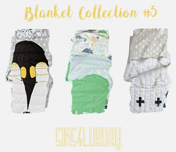 Sims4Luxury: Blanket Collection 5