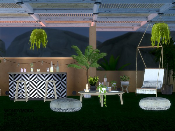 The Sims Resource: Flerovium Terrace by wondymoon