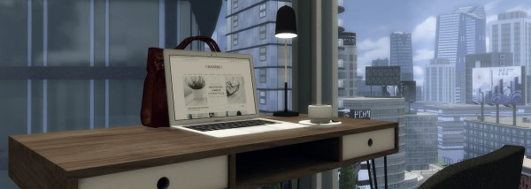 Simsworkshop: Natural Modern home by catsblob