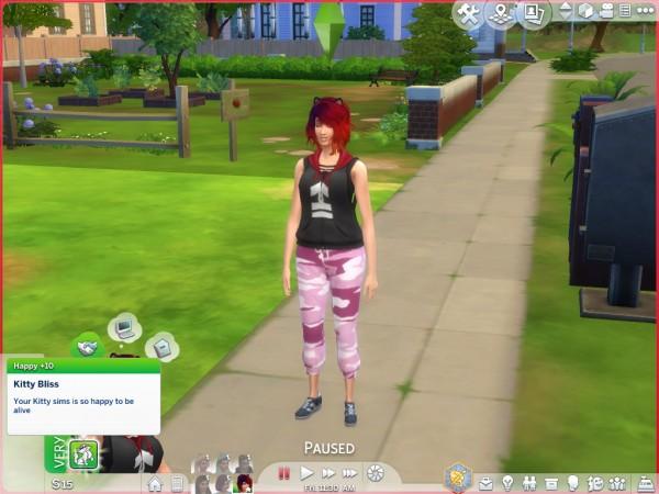 Mod The Sims: Neko Trait by Simsbunny19