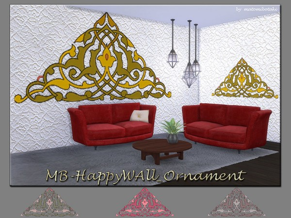The Sims Resource: Happy  Wall Ornament by matomibotaki