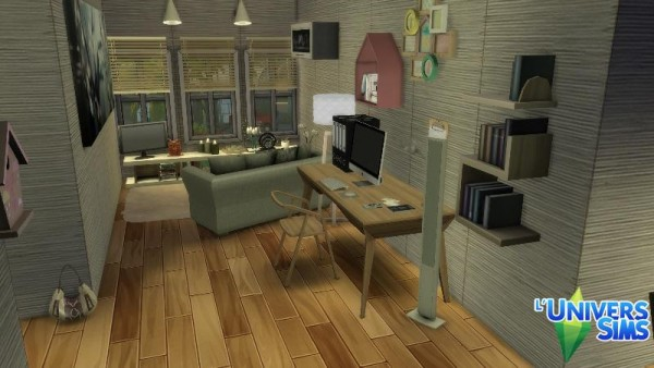 Luniversims: The spark house by Falco