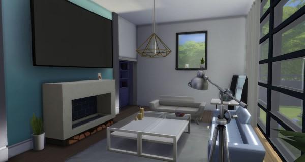 Mod The Sims: Spacious Modern Home by simsessa