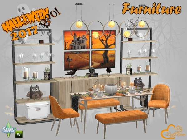 The Sims Resource: Halloween 2017   Furniture by BuffSumm