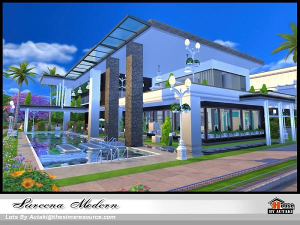 The Sims Resource: Sureena Modern house by Autaki
