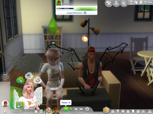 Mod The Sims: Angel and Demon Traits by Simsbunny19