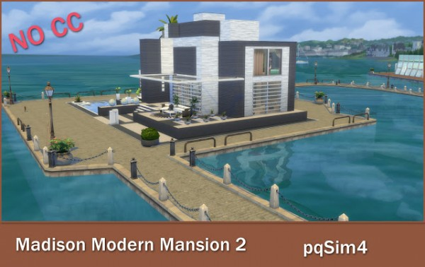 PQSims4: Madison Modern Mansion