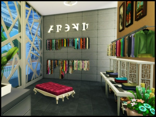 The Sims Resource: The Roadstead Mall by Terramoon