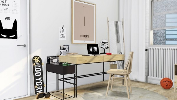 MXIMS: West Elm Industrial Storage Desk