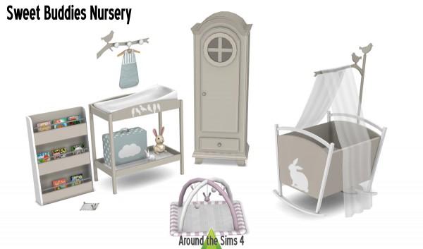 Around The Sims 4: Sweet Buddies Nursery
