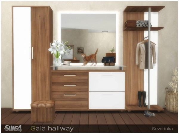 The Sims Resource: Gala hallway by Severinka