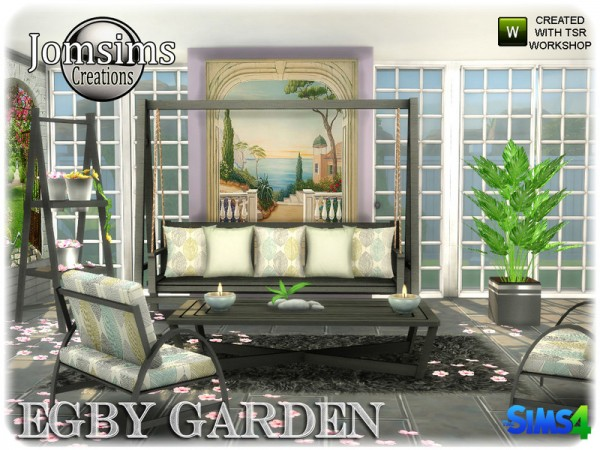 The Sims Resource: Egby garden by jomsims