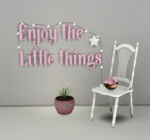Leo 4 Sims: Little things