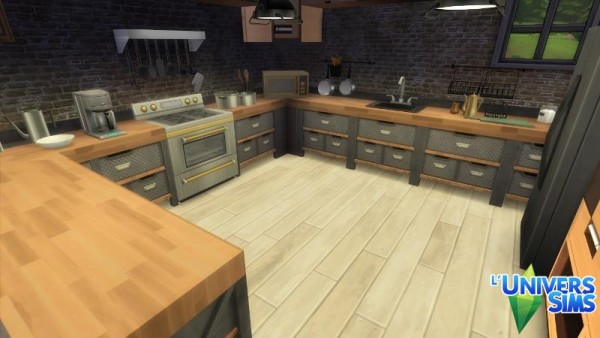 Luniversims Griotte House By Falco Sims 4 Downloads