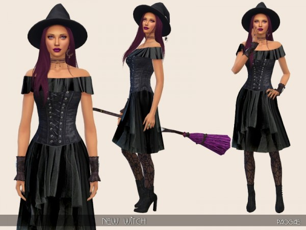 The Sims Resource: New Witch by Paogae