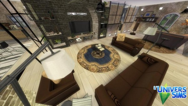 Luniversims: Griotte house by Falco