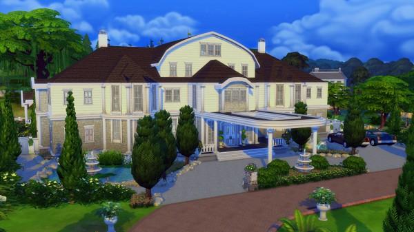 Mod The Sims: Happy Family Mansion  NO CC by bradybrad7