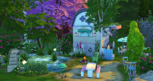 Studio Sims Creation: Willow Caravane