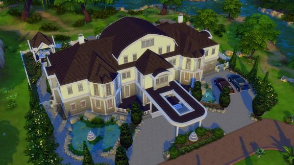 Mod The Sims Happy Family Mansion No Cc By Bradybrad7