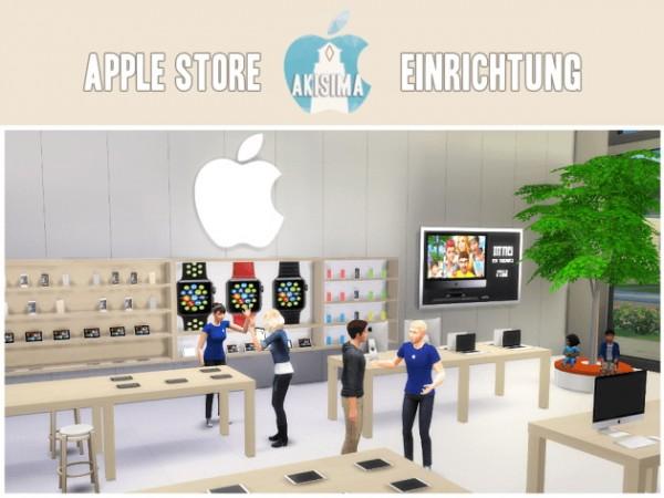 Akisima Sims Blog: Apple store facility